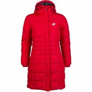 Lotto EDITH červená L - Dámský prošívaný kabát