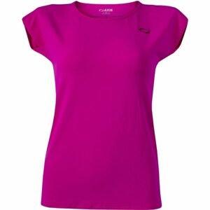 Axis FITNESS TRIKO růžová XL - Dámské fitness triko