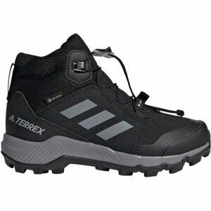 adidas TERREX MID GTX K fialová 6 - Dětská outdoorová obuv