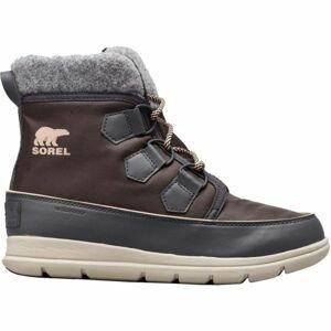 Sorel EXPLORER CARNIVAl tmavě šedá 7.5 - Dámská zimní obuv