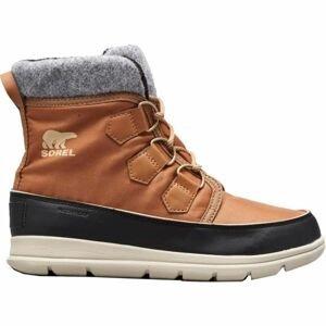 Sorel EXPLORER CARNIVAl hnědá 10 - Dámská zimní obuv