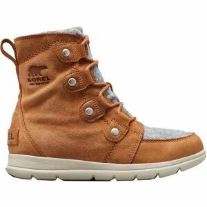 Sorel EXPLORER JOAN hnědá 8 - Dámská zimní obuv
