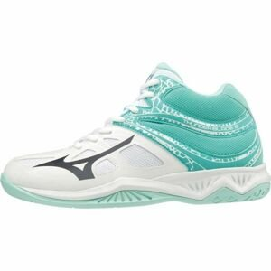 Mizuno THUNDER BLADE 2 MID W bílá 5 - Dámská sálová obuv