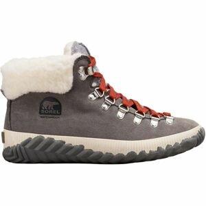 Sorel OUT N ABOUT PLUS CONQUES šedá 6 - Dámská zimní obuv