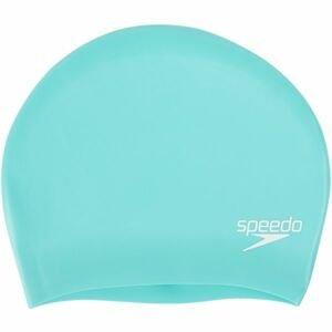 Speedo LONG HAIR CAP světle zelená NS - Plavecká čepice na dlouhé vlasy