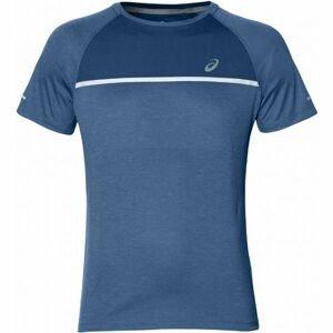 Asics SS TOP modrá S - Pánské běžecké triko