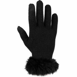 Willard MIKEA černá UNI - Dámské pletené rukavice