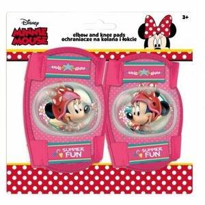 Disney CHRÁNIČE LOKTY + KOLENA růžová NS - Dětské chrániče