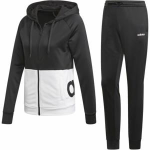 adidas WTS LIN FT HOOD černá XS - Sportovní souprava
