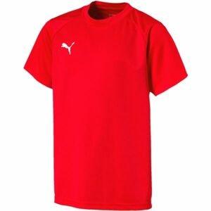 Puma LIGA TRAINING JERSEY JR červená 116 - Dětské tričko