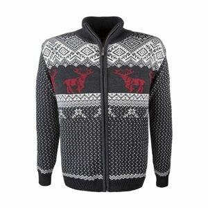 Kama MERINO SVETR 4048 bílá M - Pánský pletený svetr