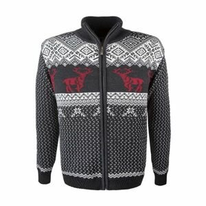 Kama MERINO SVETR 4048 bílá XL - Pánský pletený svetr
