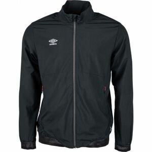 Umbro TRAINING WOVEN JACKET černá S - Pánská sportovní bunda
