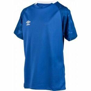 Umbro FRAGMENT JERSEY SS JNR tmavě modrá M - Dětské sportovní triko