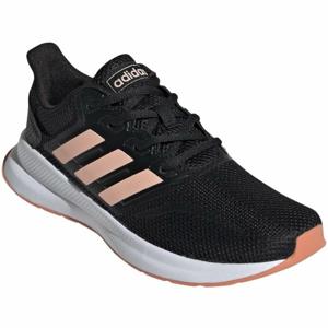 adidas RUNFALCON K černá 6.5 - Dětská běžecká obuv