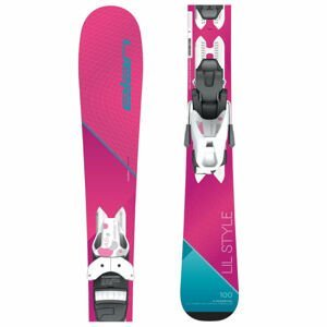 Elan LIL STYLE QS + EL 4.5  110 - Dívčí sjezdové lyže