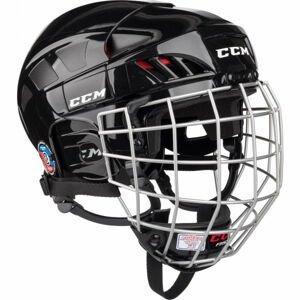 CCM FITLITE 50 COMBO SR BLK  L - Hokejová helma