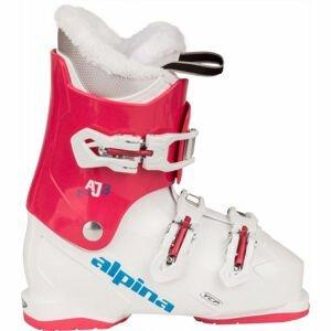 Alpina AJ3 GIRL  22 - Dívčí obuv na sjezdové lyžování