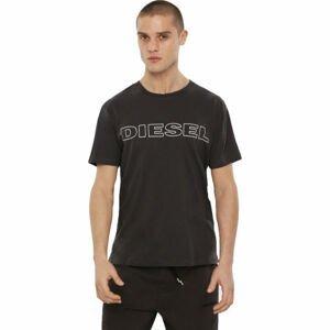 Diesel UMLT-JAKE MAGLIETTA černá M - Pánské tričko
