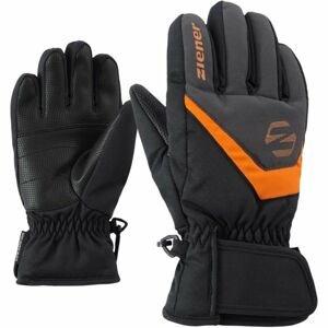 Ziener LORIK JR černá 4.5 - Dětské rukavice
