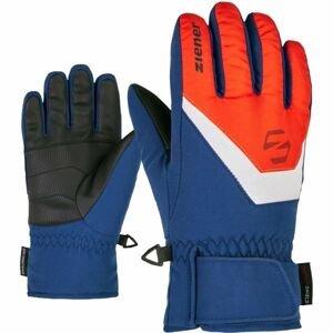 Ziener LORIK JR modrá 4 - Dětské rukavice