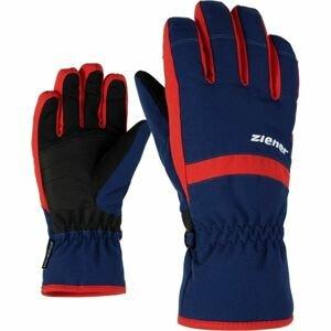 Ziener LEJANO AS JR tmavě modrá 4 - Dětské rukavice