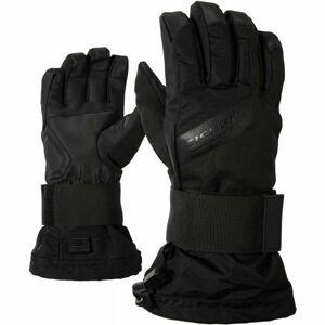 Ziener MIKKS AS JR černá M - Dětské rukavice