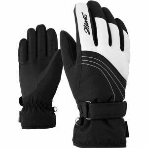 Ziener KONNY AS W černá 7,5 - Dámské rukavice