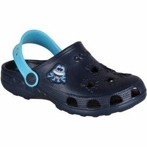 Coqui LITTLE FROG tmavě modrá 27/28 - Dětské sandály