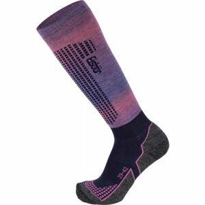 Eisbär SKI W TECH LIGHT DX + SX růžová 39 - 42 - Dámské lyžařské ponožky
