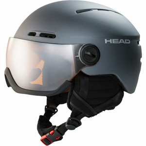 Head KNIGHT tmavě šedá (58 - 61) - Lyžařská helma