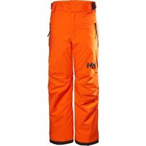 Helly Hansen JR LEGENDARY PANT oranžová 8 - Dětské lyžařské kalhoty