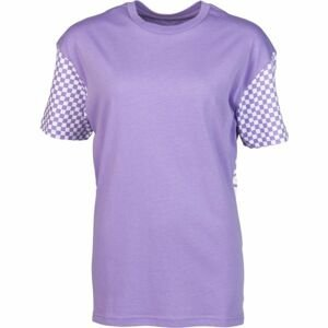 Vans WM EMEA CENTRL SS fialová M - Dámské tričko