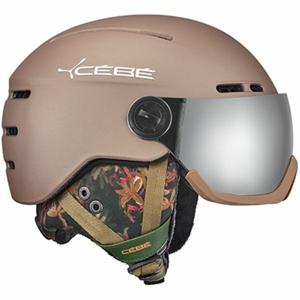 Cebe FIREBALL žlutá (56 - 58) - Unisex sjezdová helma
