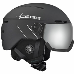 Cebe FIREBALL (56 - 58) CM černá (56 - 58) - Unisex sjezdová helma