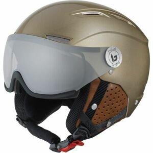 Bolle BACKLINE VISOR PHOTOCHROMIC PREMIUM béžová (56 - 58) - Lyžařská helma se štítem