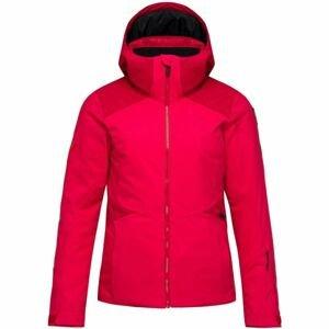 Rossignol W CONTROLE JKT červená L - Dámská lyžařská bunda