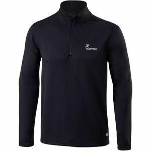 Klimatex GARCIA černá S - Pánský outdoorový pulovr