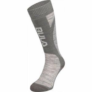 Bula SMOKE SKI SOCKS modrá L - Lyžařské ponožky