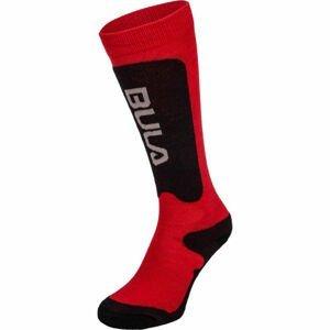 Bula BRANDS SKI SOCKS červená XXS - Dětské lyžařské ponožky
