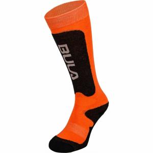 Bula BRANDS SKI SOCKS oranžová XS - Dětské lyžařské ponožky