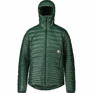 Maloja JOSUAM tmavě zelená M - Multisportovní péřová bunda