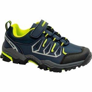 Crossroad DELIQ zelená 25 - Dětská treková obuv