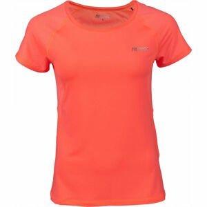 Fitforce JULIET oranžová XL - Dámské fitness triko