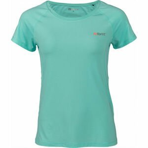 Fitforce JULIET modrá L - Dámské fitness triko