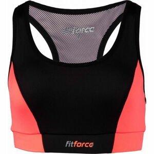 Fitforce PIRA oranžová XS - Dámská fitness podprsenka