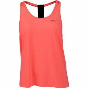 Fitforce KAPALI oranžová S - Dámský fitness top
