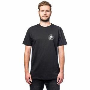 Horsefeathers MOUNTAINHEAD T-SHIRT černá M - Pánské tričko