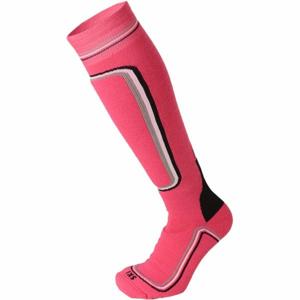 Mico HEAVY PRIMALOFT WOMAN SKI SOCKS W růžová M - Dámské lyžařské ponožky