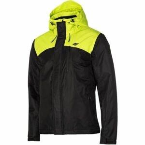 4F MAN´S SKI JACKET zelená M - Pánská lyžařská bunda